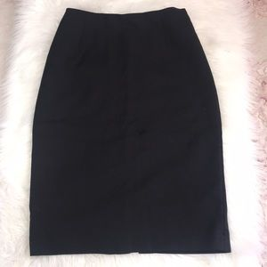 H&M Black A line skirt